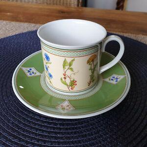 V&B EDEN  Kaffeetasse 2tlg.  gut bis sehr gut  VILLEROY&BOCH mehr