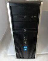 HP 8200 Elite MT i5-2400 3.1GHz 4GB RAM 500GB HDD Windows 7 Professional