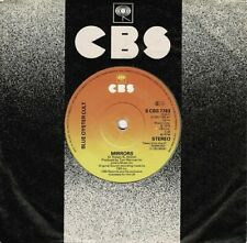 BLUE OYSTER CULT Mirrors Vinyl Record Single 7 Inch CBS 1979 Clear Vinyl & Rock