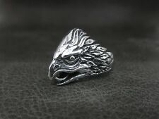 Live to Ride Eagle Spirit Silver Ring for Harley Davidson Motor Biker 73