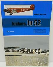 Warpaint Series No.081 - Junkers JU 52             32 Pages         Book     New