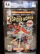 CGC 9.6 Marvel Spotlight # 32 1st Appearance of Spider Woman Jessica Drew NM+