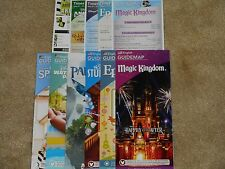 6 Brand New Disney World Theme Park Maps + Show Times + featuring new Avatar map