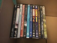 Lot of 12 DVD's Cannon, Clone Wars, Anime & More SEALED or MINT NICE VARIETY
