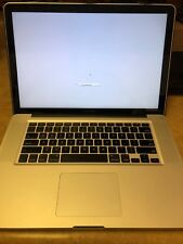 "Apple MacBook Pro 15"" A1286 MD322LL/A Late 2011 Core i7 Parts or Repair"