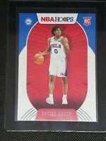 2020-21 Panini NBA Hoops TYRESE MAXEY RC #207 Philadelphia 76ers ROOKIE CARD