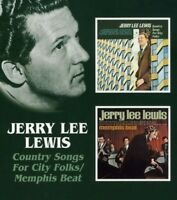 JERRY LEE LEWIS - COUNTRY SONGS FOR CITY FOLKS/MEMPHIS BEAT  CD NEW+