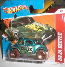 HOT WHEELS 214/244 THRILL RACERS VW BAJA BEETLE DIECAST METAL ECHELLE 1:64 OVP