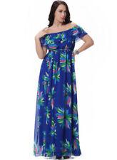 Plus Size Summer Off the Shoulder Dresses for Women