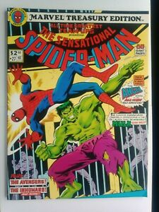 THE SENSATIONAL SPIDER-MAN #27 MARVEL TREASURY EDITION  NICE HIGHER GRADE