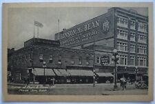 Moose Jaw, Saskatchewan Corner of Main & River Streets Robinson Macbean Postcard