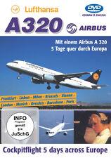 """Lufthansa Airbus A320 - """" 5 Tage quer durch Europa """" - Arbeit einer A320 Crew"""