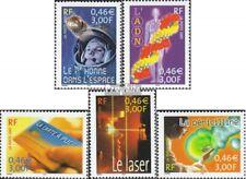 Frankrijk 3561-3565 gestempeld 2001 wetenschappelijke Evenementen