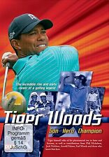 TIGER WOODS - SON  HERO  CHAMPION - HIS STORY  DVD - FREE POST IN UK