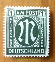 EBS Germany 1945 Allied Occupation Bizone M German print Michel 35 MNH**