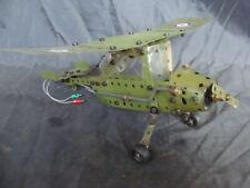 Meccano meccakit aereo militare air plane