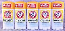 5 Arm & Hammer Essentials UNSCENTED Solid Deodorant 2.5 oz