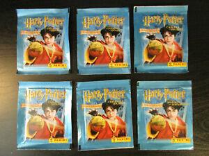 Pochette stickers Panini Harry Potter et la chambre des secrets de 2002 au choix
