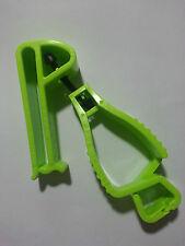 LIME GREEN GLOVE GUARD BELT CLIP WORK SAFETY patented safety break away design