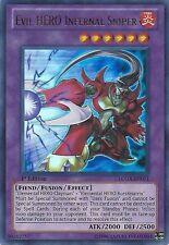 Evil Hero 50 Card Lot - Infernal Sniper - Inferno + Bonus - Gainer - Yugioh