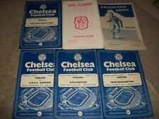 CHELSEA v DARLINGTON  FA CUP 1957/8