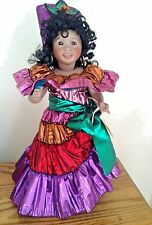 Wendy Lawton Doll Carnival Brazil Cherished Custom Original Box & COA