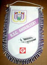 GRAND FANION WIMPEL PENNANT ROYAL SPORTING CLUB ANDERLECHT CHAMPION DE BELGIQUE