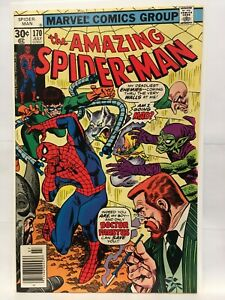 Amazing Spider-Man #170 NM- (9.2) 1st Print Marvel Comics