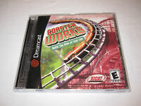Coaster Works (Sega Dreamcast) Original Release Game Complete Nr Mint!