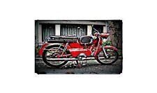 1971 Kreidler Florett Bike Motorcycle A4 Retro Metal Sign Aluminium