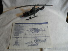 G.I. Joe/Cobra F.A.N.G. 1983 Vintage Helicopter With Instructions Rare