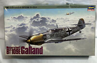 1988 Hasegawa 1:48 Messerschmitt Bf109E Galland Military Model Airplane W Engine