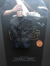 Hot Toys Star Wars Rogue One Chirrut Imwe Blue Padded Vest loose 1/6th scale