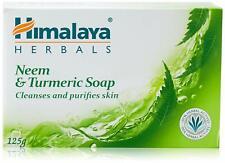 Himalaya Herbals Neem And Turmeric Soap, Anti Acne , Pimples 125 g - BUY 4 GET 5