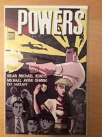 POWERS 4 (NM) & 5 (VF/NM) 1ST PRINTS, IMAGE 2000 + COLORING BOOK (UNUSED) 2001