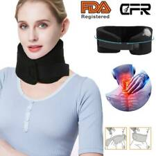 Adjustable Neck Brace Support Medical Cervical Collar Soft Foam Pain Relief PF