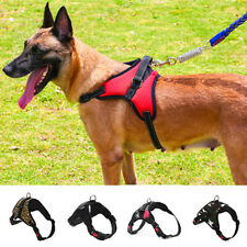 Durable No-pull Dog Harness Outdoor Adventure Pet Vest Adjustable Chest Strip G