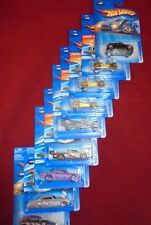 Lot of 9, Mattel Hot Wheels 2005 Releases 1:64 Scale Die Cast Vehicles MIB