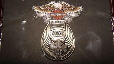 Harley Davidson Motorcycle Pewter 105th Anniversary Wings Logo Pin - NOC