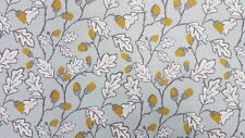 Clarke and Clarke Acorn Trail Duckegg Curtain Upholstery Craft CREATEUR fabric