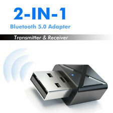 Audio Aux Music 3.5mm USB Adapter Connector Bluetooth Transmitter Receiver Set