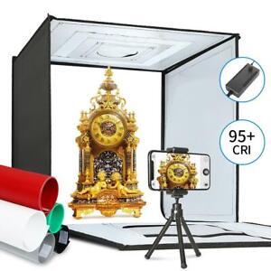 20''x20'' Portable LED Light Box Photography Soft Box Shooting Tent Photo Studio
