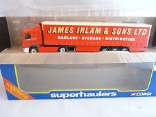 Corgi Superhaulers 59509 'James Irlam' Scania Curtainsider