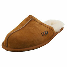 UGG Scuff Mens Chestnut Slippers Shoes - 8 UK
