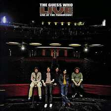 GUESS WHO : LIVE AT THE PARAMOUNT (RMST) (CD) sealed