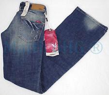 Stonewashed L36 Damen-Bootcut-Jeans niedriger Bundhöhe (en)