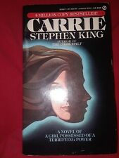 Carrie Stephen King 1st Signet 1988 mmpb PaperBack horror movie tie-in first Tpb
