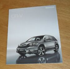 Honda CR-V Accessories Brochure 2009 - CRV