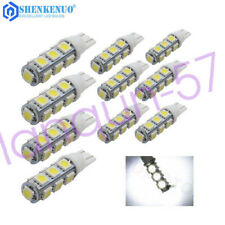 10PCS LED Landscape Light 13Led/smd Per Bulb 194 T10 T5 Wedge Base DC 12V 13SMD