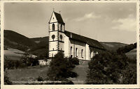 Pfarrkirche ~1950 Untersimonswald Simonswald Schwarzwald alte Postkarte ungel.